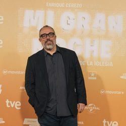 Álex de la Iglesia en la premiere de su nueva película 'Mi gran noche'