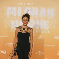 Patricia Pérez en la alfombra roja de la premiere de 'Mi gran noche' en Madrid