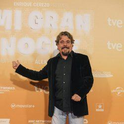 Juan Muñoz de Cruz y Raya en la premiere de Madrid de 'Mi gran noche'