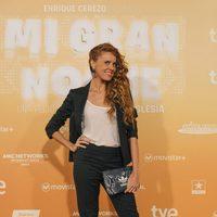 María Castro en la premiere de 'Mi gran noche' en Madrid