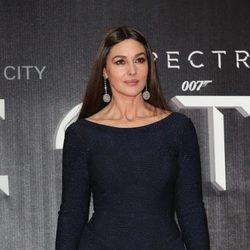 Monica Bellucci en la premiere de 'Spectre' en Mexico