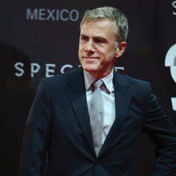 Cristoph Waltz en la premiere de 'Spectre' en Mexico