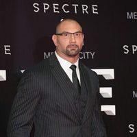 Dave Bautista en la premiere de 'Spectre' en Mexico
