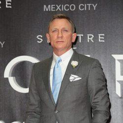 Daniel Craig en la Premiere de 'Spectre' en Mexico