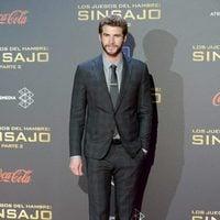 Liam Hemsworth en la premiere de 'Los Juegos del Hambre: Sinsajo - Parte 2' en Madrid