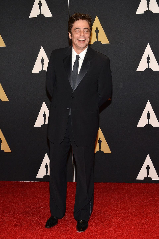 Benicio del Toro en los Governor's Awards 2015