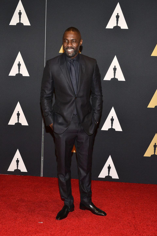 Idris Elba en los Governor's Awards 2015
