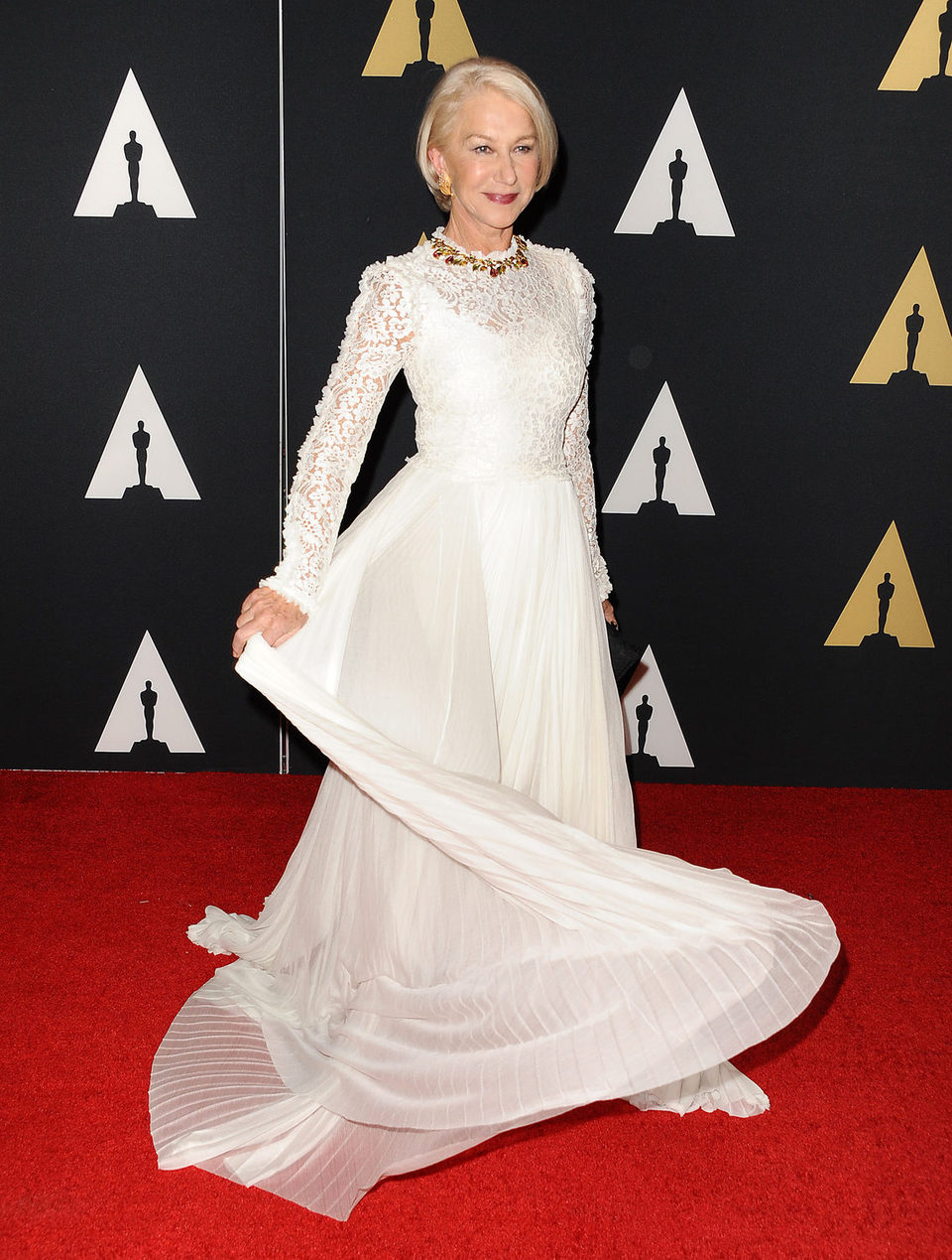 Helen Mirren en los Governor's Awards 2015