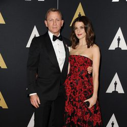 Daniel Craig y Rachel Weisz en los Governor's Awards 2015