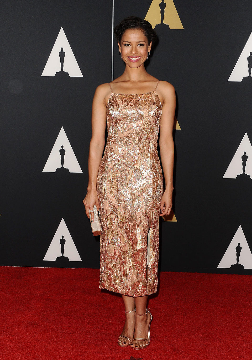 Gugu Mbatha-Raw en los Governor's Awards 2015
