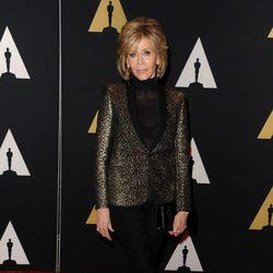Jane Fonda en los Governor's Awards 2015