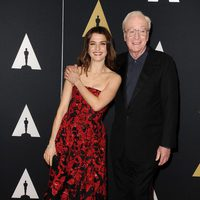 Rachel Weisz y Michael Caine en los Governor's Awards 2015