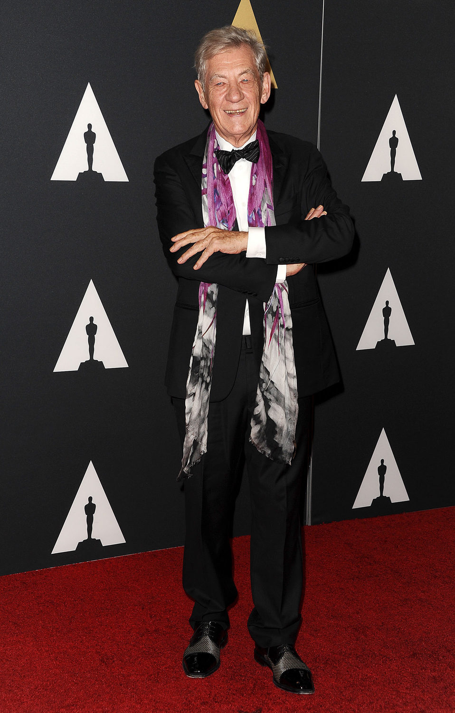 Ian McKellen en los Governor's Awards 2015