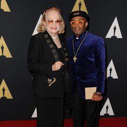 Gena Rowlands y Spike Lee en los Governor's Awards 2015