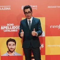 Berto Romero en la Premiere de 'Ocho apellidos catalanes'
