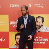 Alberto López en la Premiere de 'Ocho apellidos catalanes'