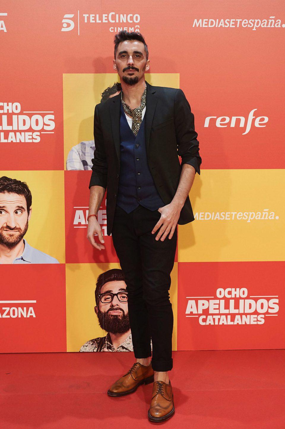 Canco Rodríguez en la Premiere de 'Ocho apellidos catalanes'