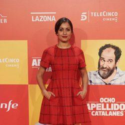 Hiba Abouk en la Premiere de 'Ocho apellidos catalanes'