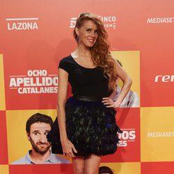 María Castro en la Premiere de 'Ocho apellidos catalanes'