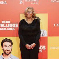 Manuela Carmena en la Premiere de 'Ocho apellidos catalanes'