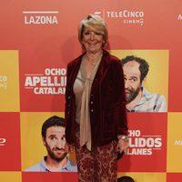 Esperanza Aguirre en la Premiere de 'Ocho apellidos catalanes'