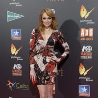 Cristina Castaño en la premiere de 'Palmeras en la nieve' en Madrid