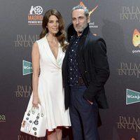 Juana Acosta y Ernesto Alterio en la premiere de 'Palmeras en la nieve' en Madrid