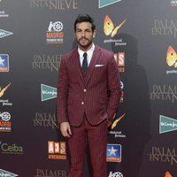 Mario Casas en la premiere de 'Palmeras en la nieve' en Madrid