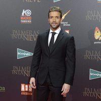 Pablo Alborán en la premiere de 'Palmeras en la nieve' en Madrid