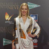 Maggie Civantos en la premiere de 'Palmeras en la nieve' en Madrid