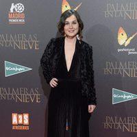 Nadia de Santiago en la premiere de 'Palmeras en la nieve' en Madrid