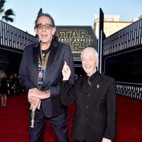 Chewbacca y C-3PO no en la premiere de 'Star Wars: El despertar de la fuerza'