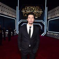 Adam Driver en la premiere de 'Star Wars: El despertar de la fuerza'