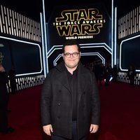 Josh Gad en la premiere de 'Star Wars: El despertar de la fuerza'