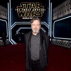 Mark Hamill en la premiere de 'Star Wars: El despertar de la fuerza'