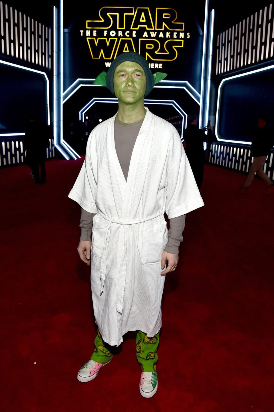 Joseph Gordon-Levitt en la premiere de 'Star Wars: El despertar de la fuerza'