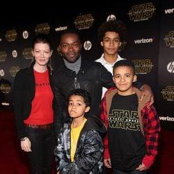 David Oyelowo en la premiere de 'Star Wars: El despertar de la fuerza'