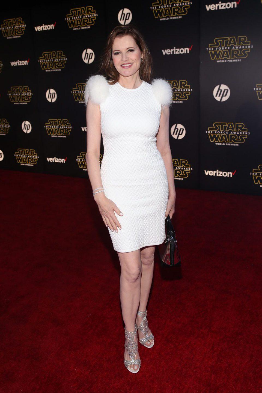 Geena Davis en la premiere de 'Star Wars: El despertar de la fuerza'