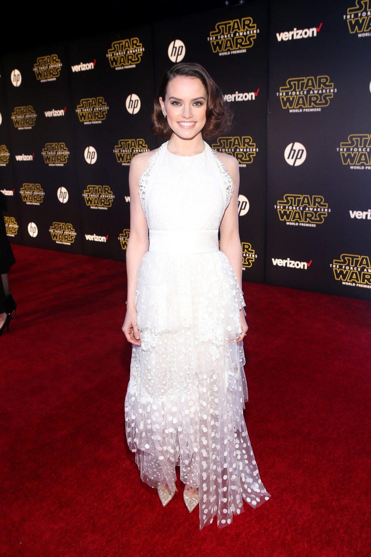 Daisy Ridley en la premiere de 'Star Wars: El despertar de la fuerza'