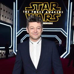 Andy Serkis en la premiere de 'Star Wars: El despertar de la fuerza'