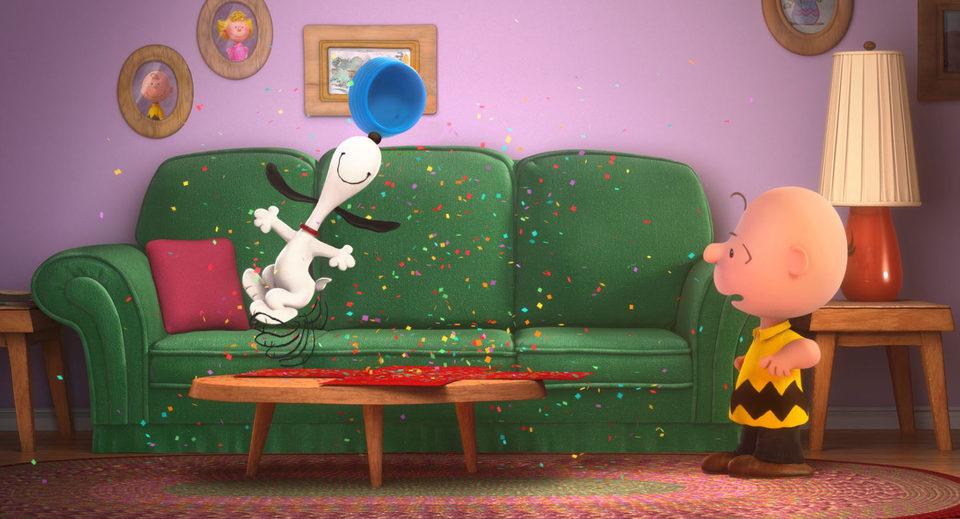 Carlitos y Snoopy: La película de Peanuts, fotograma 12 de 18