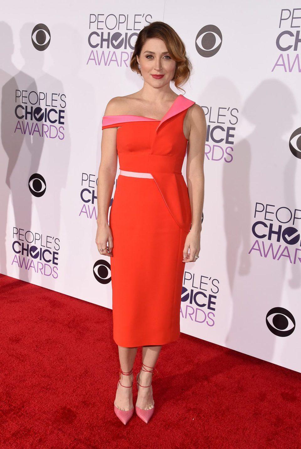Sasha Alexander en los People's Choice Awards 2016