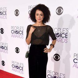 Nathalie Emmanuel durante los People's Choice Awards 2016