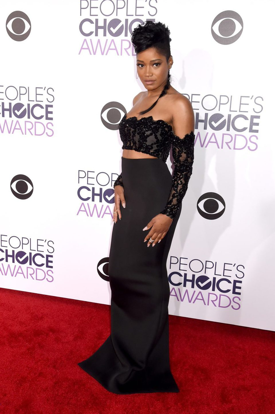 Keke Palmer during the People's Choice Awards 2016 ...