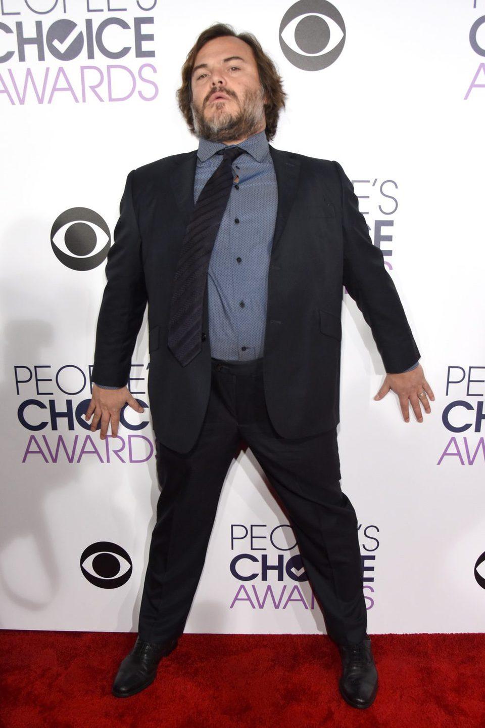 Jack Black en los People's Choice Awards 2016