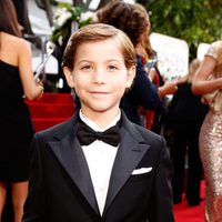 Jacob Tremblay at the 2016 Golden Globes red carpet
