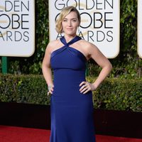 Kate Winslet in the 2016 Golden Globes red carpet