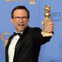 Christian Slater gana el Globo de Oro por 'Mr. Robot'