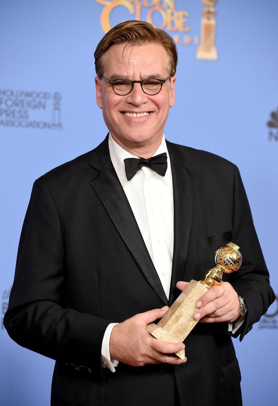 Aaron Sorkin gana el Globo de Oro al Mejor Guión