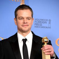 Matt Damon gana el Globo de Oro por 'Marte (The Martian)'